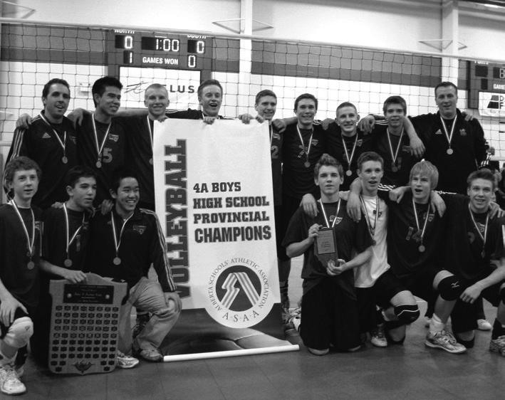 2007 LCI Rams Senior Boys Volleyball Team