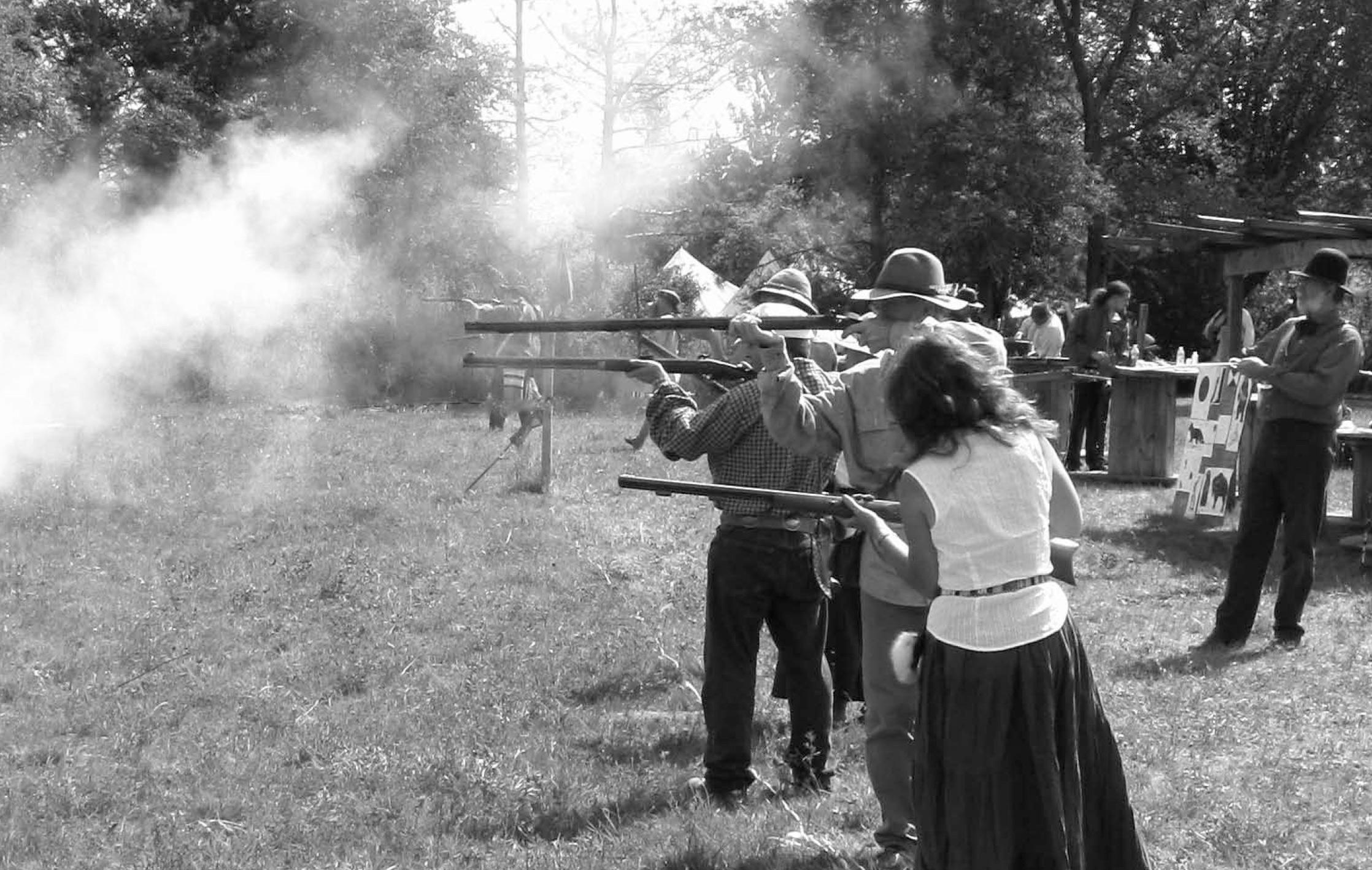 LSHOF Shooting History in Lethbridge